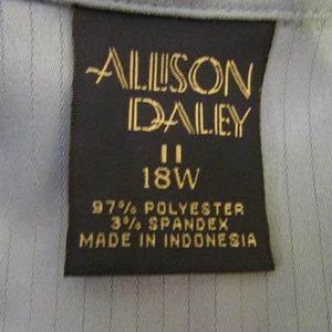 Allison Daley Tops - Long Sleeve Plus Size Blouse Top 18W